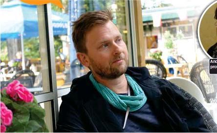 """??  ?? Andreas Önnerfors, professor i idéhistoria. EGEN VÄG. """"För mig är det här en klassisk vänsterlinje. Anti-kapitalistisk maktkritik. Jag har samma åsikter som jag alltid har haft"""", säger Andreas Sidkvist."""