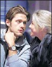 """?? Katie Falkenberg Los Angeles Times ?? """"GREASE: LIVE"""" costars Aaron Tveit and Julianne Hough rehearse for Jan. 31."""