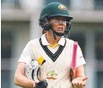 ??  ?? HOME GAMES: Stars vice­cap­tain Alex Black­well.