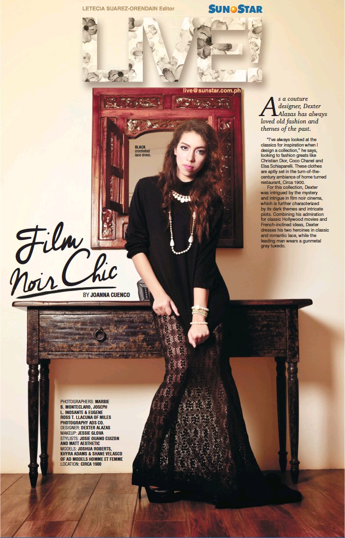 Pressreader Sunstar Cebu 2014 07 18 Film Noir Chic