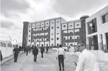 ??  ?? Située à El Hassania, cette nouvelle université sera opérationnelle dès la prochaine rentrée universitaire