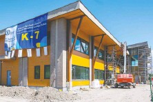 ?? FRANCIS GEORGIAN ?? The Chaoyin International School in Richmond, for kindergarten to Grade 7 students, has been given interim accreditation as an independent school, pending an inspection this fall.
