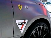 ??  ??  The Fiat Abarth 500 is equipped with Koni dampers as standard.