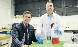 ??  ?? Rafa Matamoros y Javier Guillén, dos de los siete cofundadores de Biofresh Tech