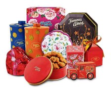 Be it in a tin or a box, Famous Amos cookies gifts are ideal for Chinese New Year gatherings or any corporate events.