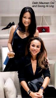 ??  ?? Datin Maureen Ooi and Soong Ai Ling
