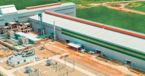 ?? LAS LOMAS ?? Vista panorámica de la planta siderúrgica Las Lomas, ubicada en el municipio de Buena Vista (Santa Cruz).