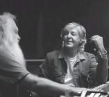 ?? (Hulu/TNS) ?? PAUL MCCARTNEY sits down with producer Rick Rubin in 'McCartney 3,2,1.'