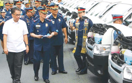 Image result for mar roxas police