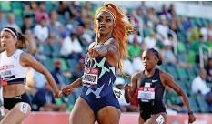 ?? DPA/SKL ?? Sha'carri Richardson fehlt an den 100-Meter-sprints in Tokio. GETTY