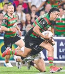 ?? ?? Cody Walker scores for Souths.