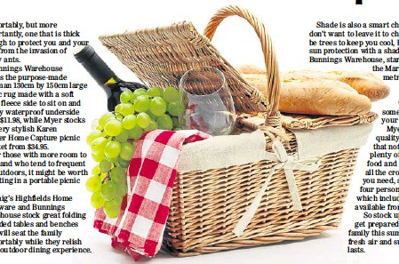 Make Summer Entertainment A Picnic Pressreader