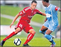 """?? 2012, DEAN HOFFMEYER/TIMES-DISPATCH ?? David Bulow totaled 45 goals and 13 assists across seven seasons with the Richmond Kickers. """"David's impact on our club will not be forgotten,"""" wrote Kickers chairman Rob Ukrop after Bulow's passing."""