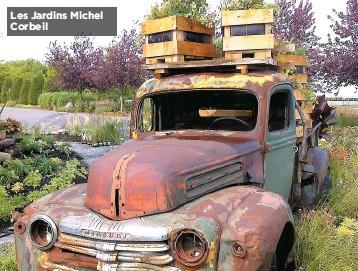 ??  ?? Les Jardins Michel Corbeil