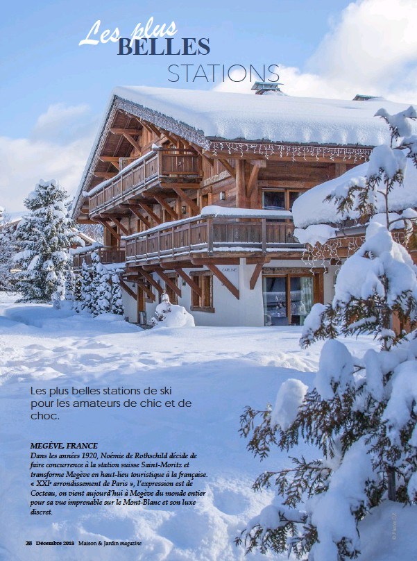 Pressreader Maison Et Jardin Magazine 2018 12 05 En Montagne