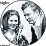 ??  ?? June Carter and Johnny Cash duet on stage, above