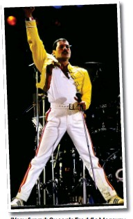 ??  ?? 'Very funny': Queen's Freddie Mercury
