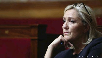??  ?? The far-right party of Marine Le Pen also did worse than expected