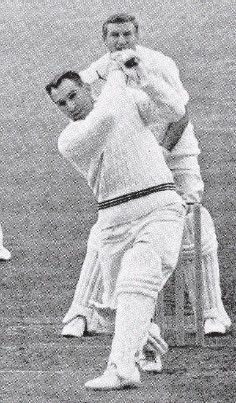 ?? PHOTO: SUPPLIED ?? Reid shows his swashbuckling batting style.