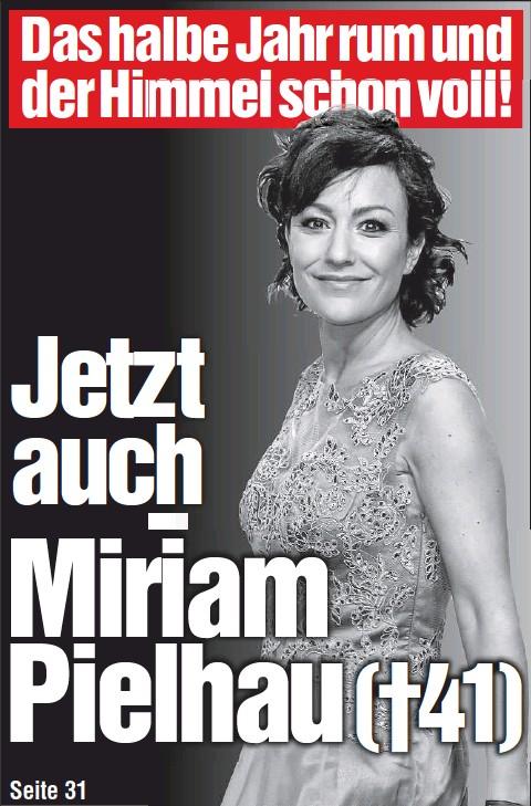 Pressreader Chemnitzer Morgenpost 2016 07 14 Jetzt Auch Miriam