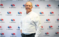?? Picture: Alaister Russell ?? Capitec CEO Gerrie Fourie.