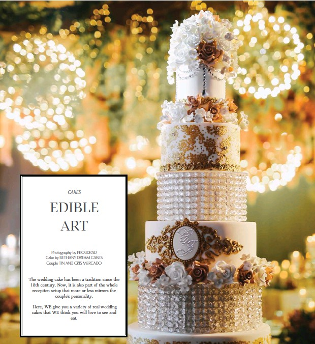 Pressreader Wedding Essentials 2018 07 01 Edible Art