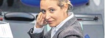 ?? FOTO: CHRISTIAN THIE/IMAGO IMAGES ?? Alice Weidel (AfD).