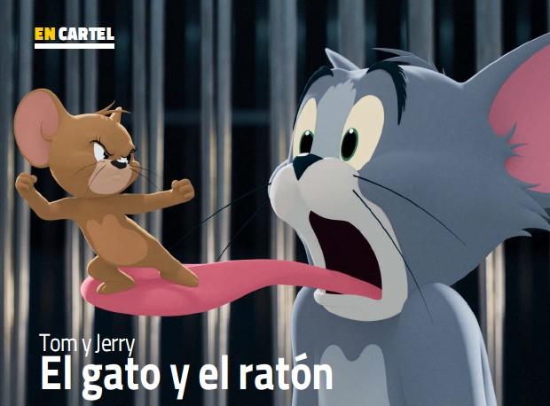 ??  ?? El gato Tom y el ratón Jerry vuelven a enfrentarse cómicamente en esta aventura que mezcla animación e imagen real.