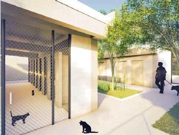 ?? Cortesía ?? Así será el Centro de Bienestar Animal de Barranquilla.