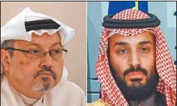 ?? AFP ?? RYAD. Khashoggi, cuya muerte Biden atribuyó al príncipe saudita.
