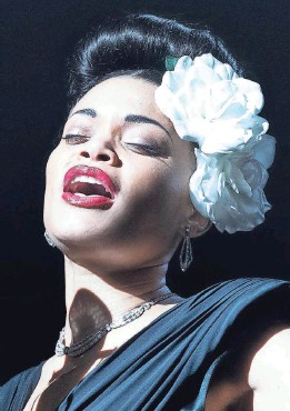 """?? PHOTOS PROVIDED BY TAKASHI SEIDA ?? Grammy-nominated singer Andra Day makes her acting debut in """"The United States vs. Billie Holiday."""""""