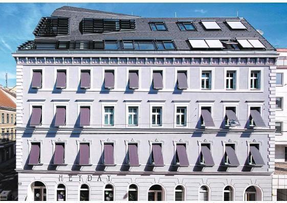 ??  ?? Der Sieger, das Objekt Mariahilfer Straße 182, überzeugte die Jury mit innovativen Maßnahmen und perfekter Ausführung und setzte sich gegen 20 Mitbewerber durch