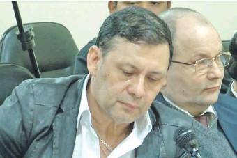 ??  ?? Víctor Bogado durante el juicio oral en el que fue condenado. Luego fue expulsado del Senado.