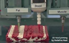 ??  ?? 3D food printing by Redefine Meat