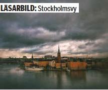 ?? FOTO: ANNA SERRANDER ?? VACKERT. Trots pandemins mörka moln över Stockholm bor vi ändå i världens vackraste stad.