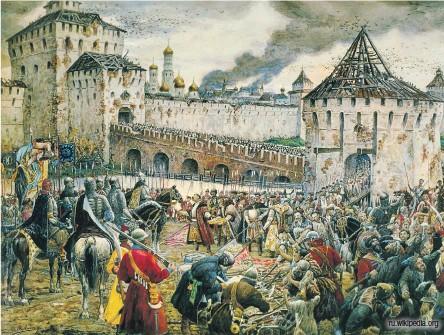 ?? Ru.wikipedia.org ?? Изгнание поляков из Кремля Пожарским, художник Эрнест Лисснер, 1938 г.