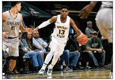 ?? KEITH COLE/CONTRIBUTED ?? After a slow start to his college career, Wright State freshman Malachi Smith has been playing well enough lately to be known for more than just his sunny disposition.