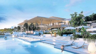 ?? /Supplied ?? Privacy: Facilities at the planned resort will include a separate pool for adults.