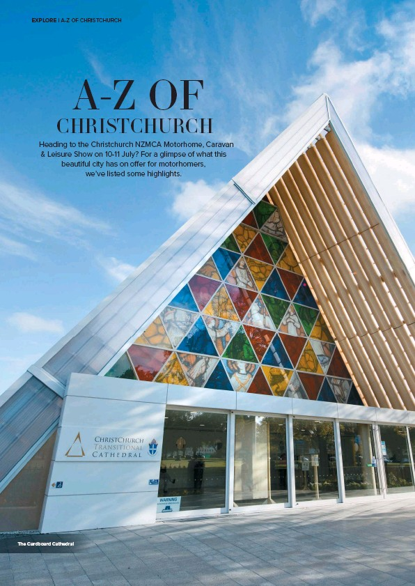 ??  ?? The Cardboard Cathedral