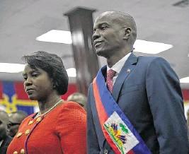 ??  ?? El presidente de Haití, Jovenel Moïse, fue asesinado el pasado miércoles 7 de julio, en su residencia. Su esposa, Martine Moïse, se encuentra en una clínica en EE. UU.