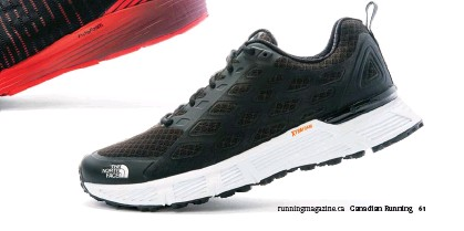717b65bcf221 The women s shoe comes in black with pink accents and red with orange  accents. All in all  a great all-around endurance offering from North Face.