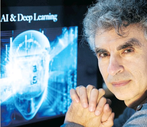 ?? GRAHAM HUGHES / THE CANADIAN PRESS FILES ?? Computer scientist Yoshua Bengio, scientific director of the Montreal Institute for Learning Algorithms, says Montreal technology and talent is broad and can work across different niche sectors.