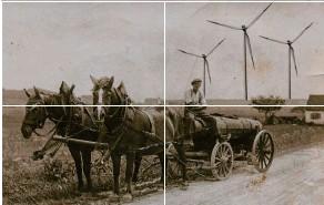 ?? – Dieses Foto sendete uns Cilli Herb aus Stöttwang (Landkreis Ostallgäu). Es zeigt ihren Vater Xaver Eller auf dem Weg von Thalhofen nach Linden mit dem Güllefass im Jahr 1938. ?? WAS PASST NICHT AUF DIESEM BILD? KOORDINATEN: