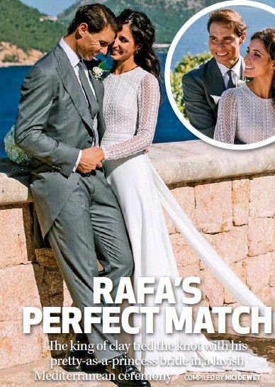 Pressreader You South Africa 2019 10 31 Rafa Marries His Longtime Love