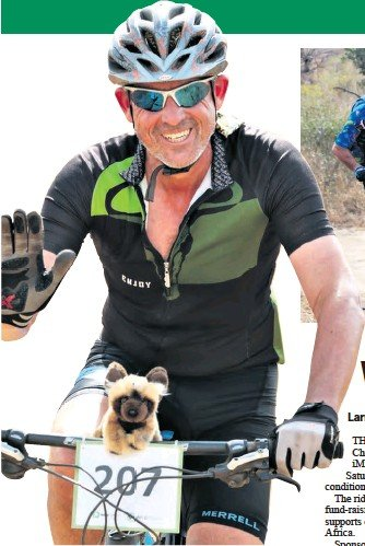 ??  ?? A thumbs-up from Ferdi Myburgh