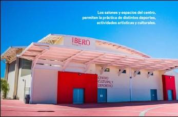 ??  ?? Los salones y espacios del centro, permiten la práctica de distintos deportes, actividades artísticas y culturales.