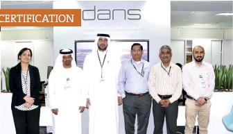 ??  ?? Dans' quality, safety, and security teams worked diligently to secure the certifications.