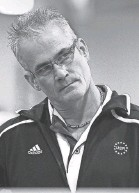 ?? GREG DERUITER/LANSING STATE JOURNAL ?? John Geddert, 63, formerly owned and coached at Twistars gymnastics club.