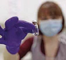 ?? AP ?? Vigilancia. Todo el mundo buscará aprender de los resultados que obtenga el Reino Unido de esta vacunación masiva.
