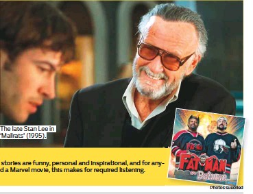 ?? Photos supplied ?? The late Stan Lee in 'Mallrats' (1995).